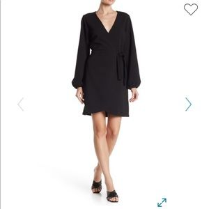 Madewell Nordstrom wrap bubble dress